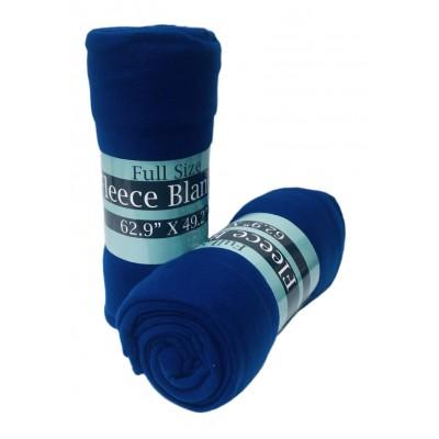 Polar Fleece Blankets Blue