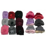Ladies Knitted Hat $1.79 Each.