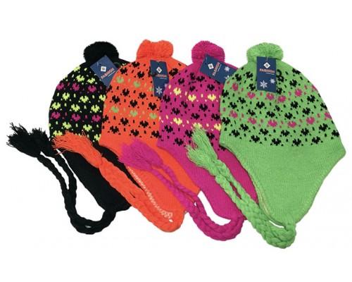 Girls Neon Hats