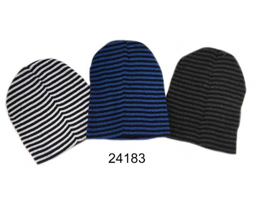 Ladies/Girls Striped Hat