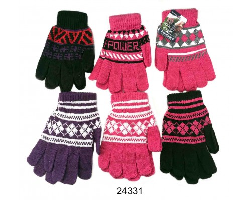 Ladies/Girls Knitted Gloves
