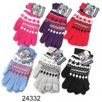 Ladies/Girls Knitted Gloves $1.49 Each.