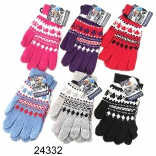 Ladies Knit Gloves
