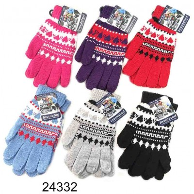 Ladies Knit Gloves