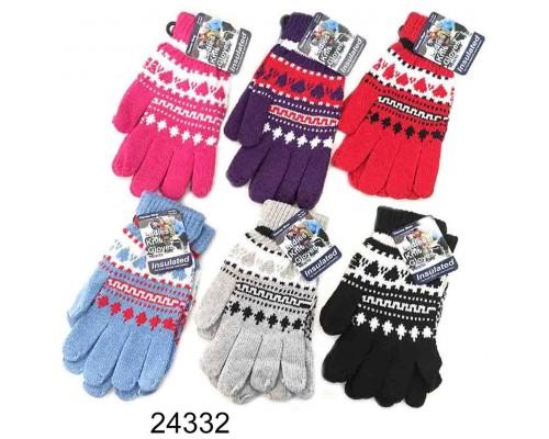 Ladies/Girls Knitted Gloves