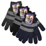 Men's/Boys Knitted Gloves $1.49 Each.