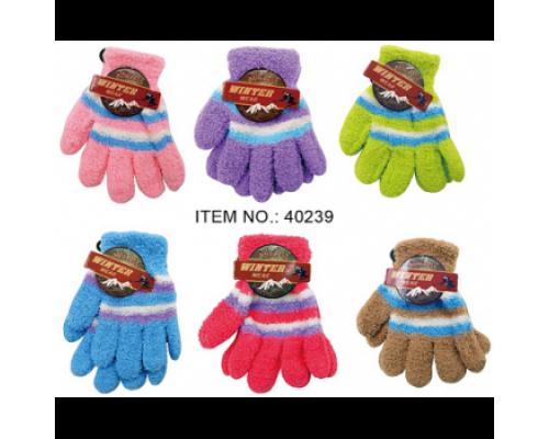 Children's Winter Gloves $0.74 Each.