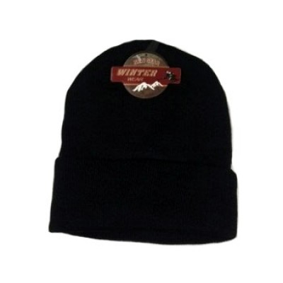 Wholesale Knit Black Hats