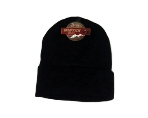 Winter Black Hat