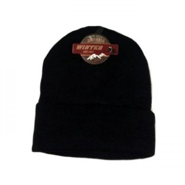 Wholesale Knit Black Hats