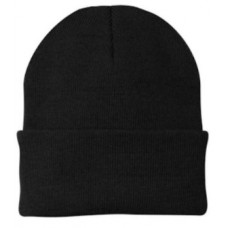 Adults Knit Hat Black