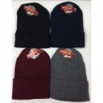 Unisex Winter Ribbed Solid Hat $0.89 Each.