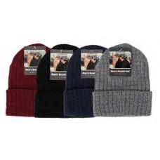 Men's Beanie Hat Ribbed