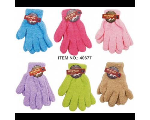 Girls Ladies Winter Gloves