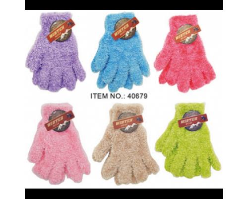 Girls Ladies Winter Gloves $0.79 Each.
