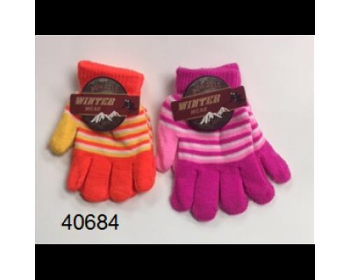 Girls Winter Gloves $0.74 Each.