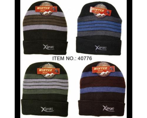 Men's Winter Sport Hat $1.25 Each.