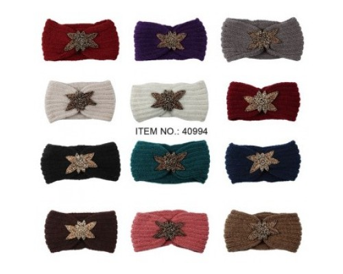 Ladies Winter Head Belts $1.45 Each.