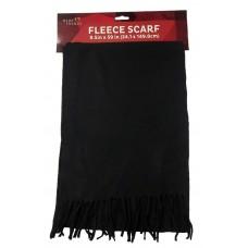 Polar Fleece Scarf Black