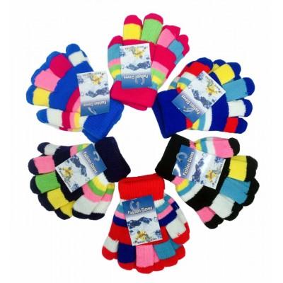 Girls Knitted Winter Gloves