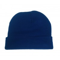 Blue Heavy Weight Knit Hat $1.19 Each.