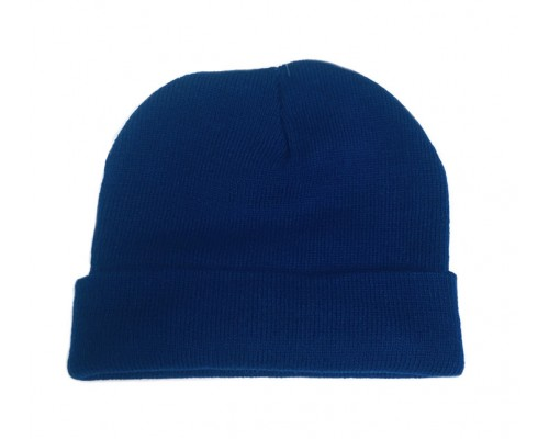 Blue Heavyweight Knitted Hat
