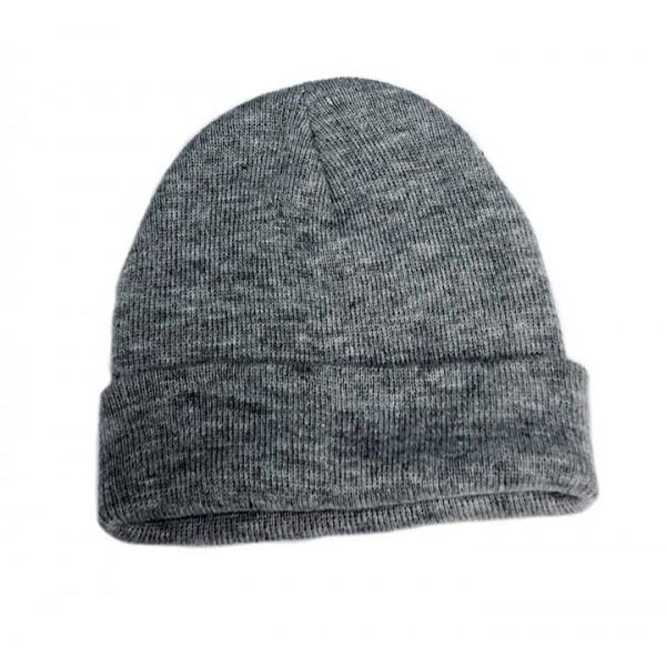 Wholesale Knit Hat Light Grey