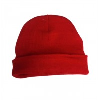 Red Heavy Weight Knit Hat $1.19 Each.