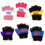 Kids ABC123 Winter Gloves